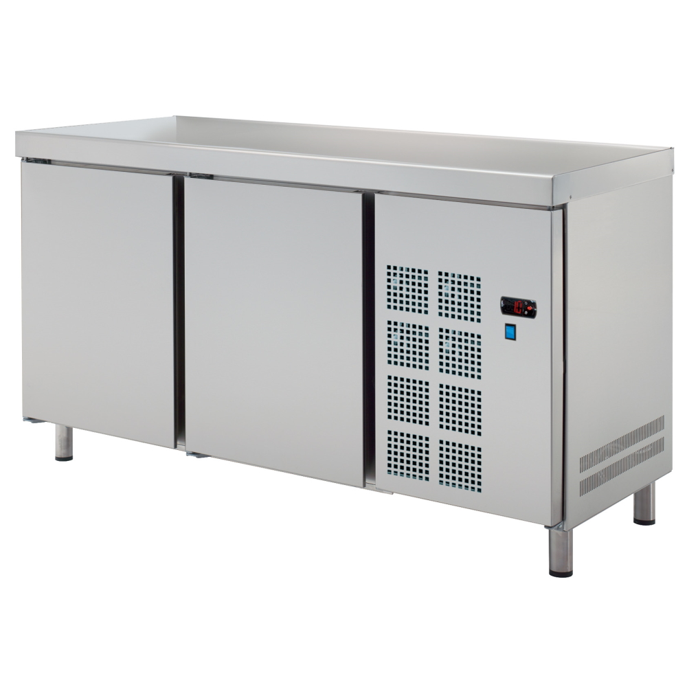 Eurast 7C257950 Central cold table 2 doors - 1500x600x850 mm - 400 W 230/1V
