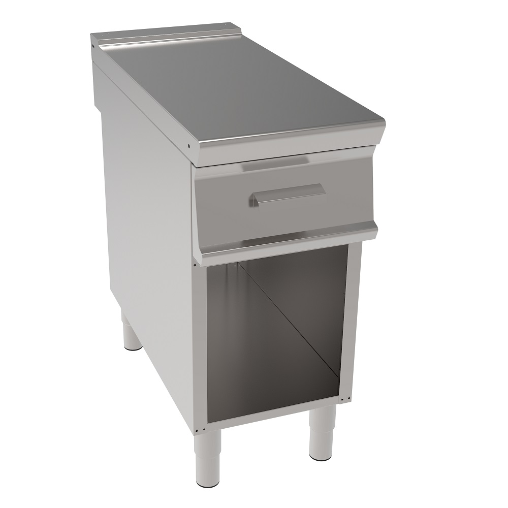 Eurast 38307697 Working area table with 1 drawer on open support - 400x700x900 mm