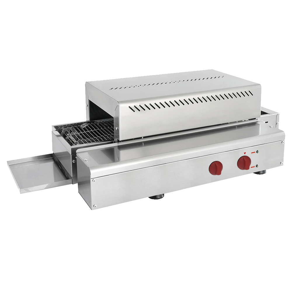 Eurast 43616017 Electric ribbon bread toaster for bread - 750x420x250 mm - 3 KW 230/1V