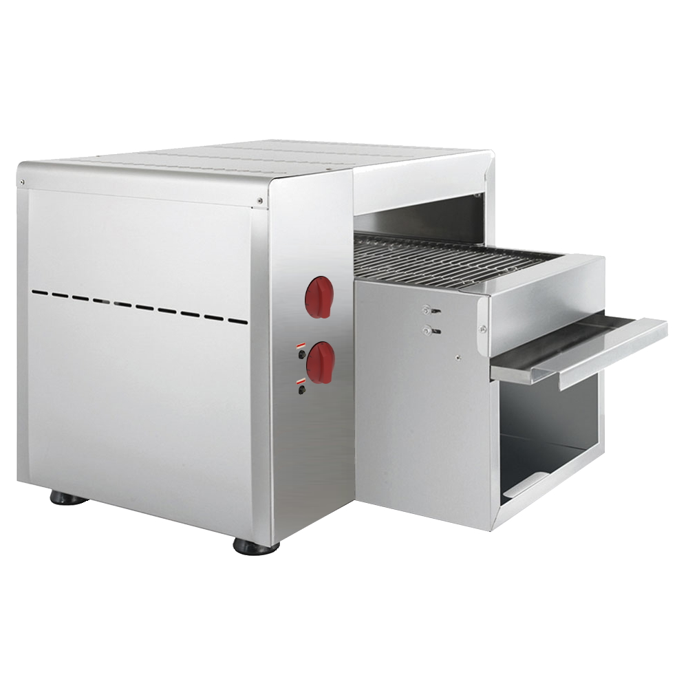 Eurast 43816017 Electric ribbon bread toaster for bread - 480x510x410 mm - 3 KW 230/1V