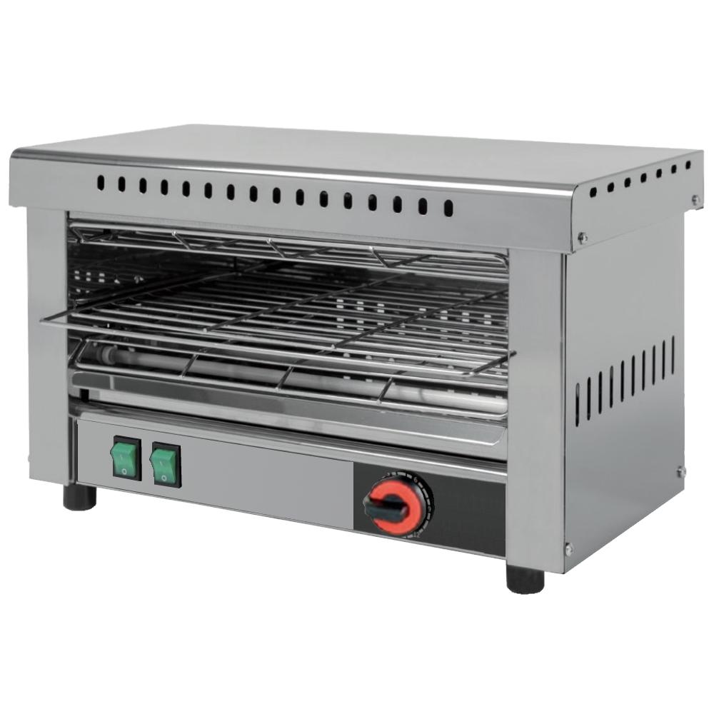 Eurast 4308N0C9 Electric toasters 1 shelf 530 x 230 - 635x260x400 mm - 4,2 Kw 230/1V