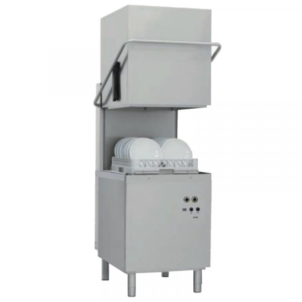 Eurast 460083TS Dome dishwasher basket 500x500 - 50 baskets/h - 640x740x1530 mm - 9,6 KW 400/3V