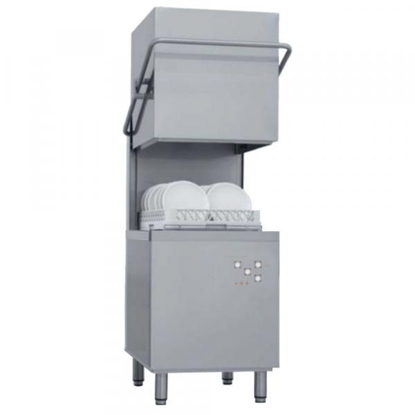 Eurast 46DD1083 Dome dishwasher basket 500x500 - 50 baskets/h - 640x740x1530 mm - 9,6 KW 400/3V