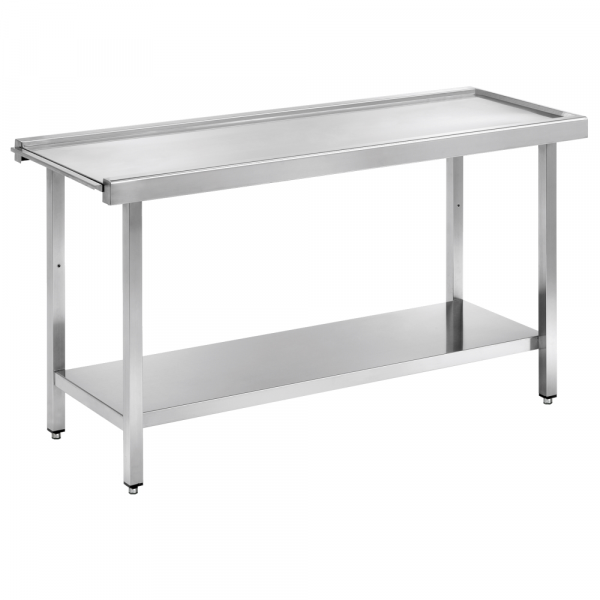 Eurast 16661ECS Dishwasher in/out table smooth and central - 1600x600x850 mm