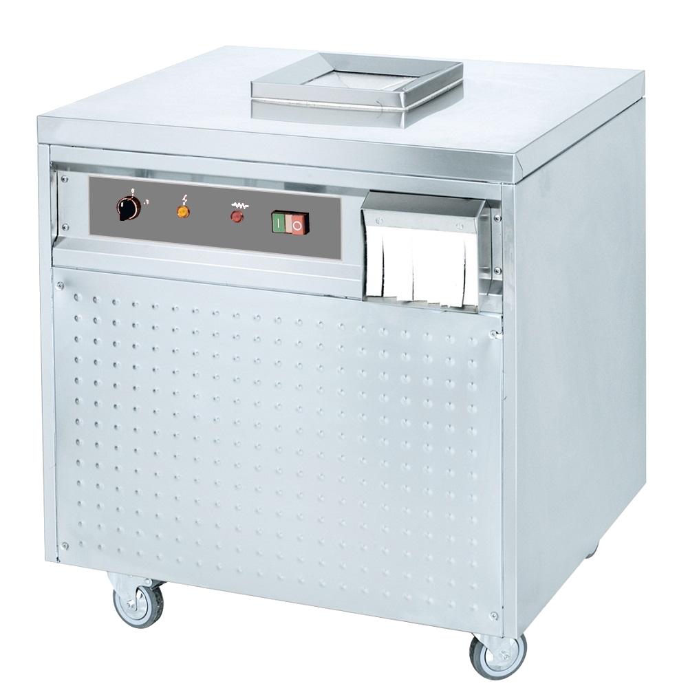 Eurast 46110G08 Secador-esterilizador de cubiertos 5000 piezas/hora - 700x600x760 mm - 900 W 230/1V