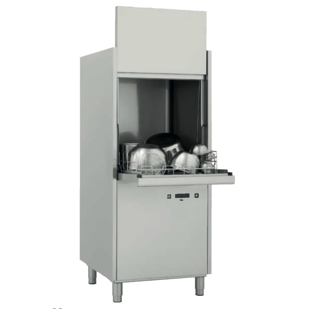 Eurast 28423CDD Pot-washer basket 560x630 - 720x780x1730 mm - 10,5 KW 400/3V