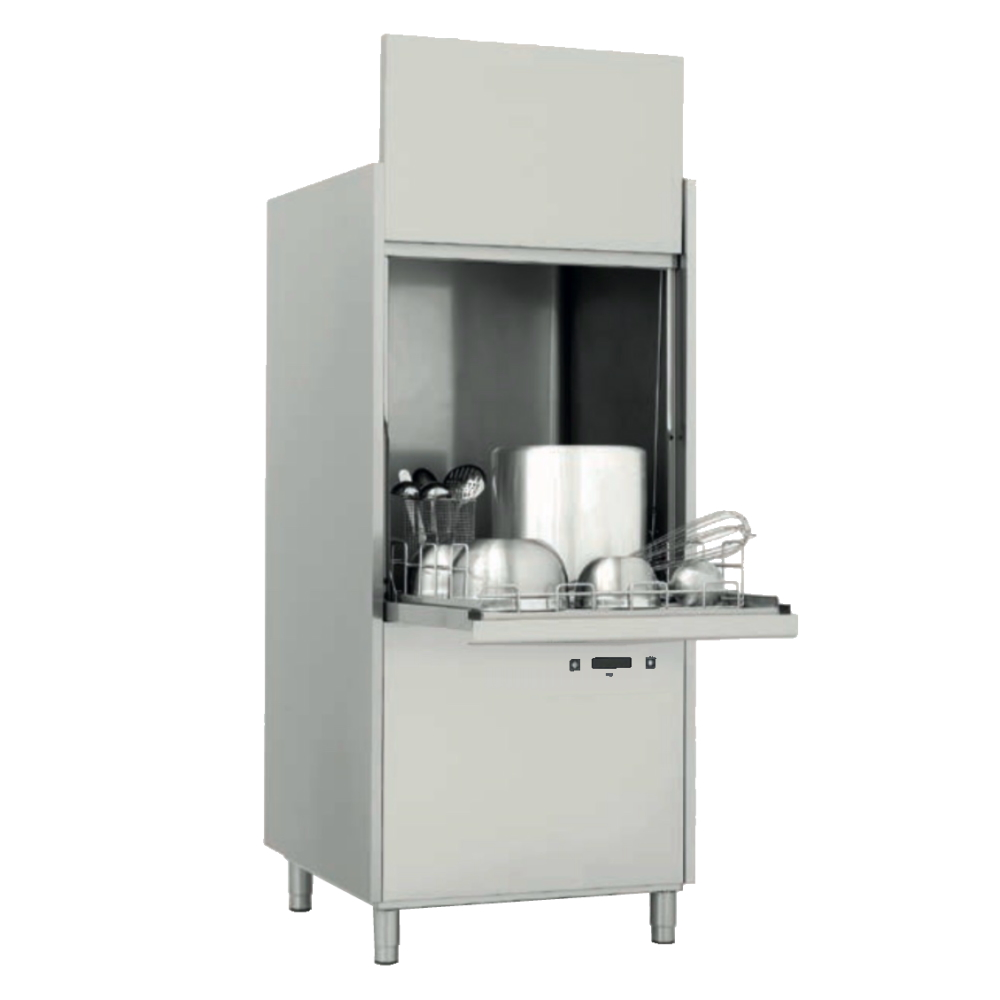 Eurast 28623CDD Pot-washer basket 700x700 - 850x850x1930 mm - 13,7 KW 400/3V