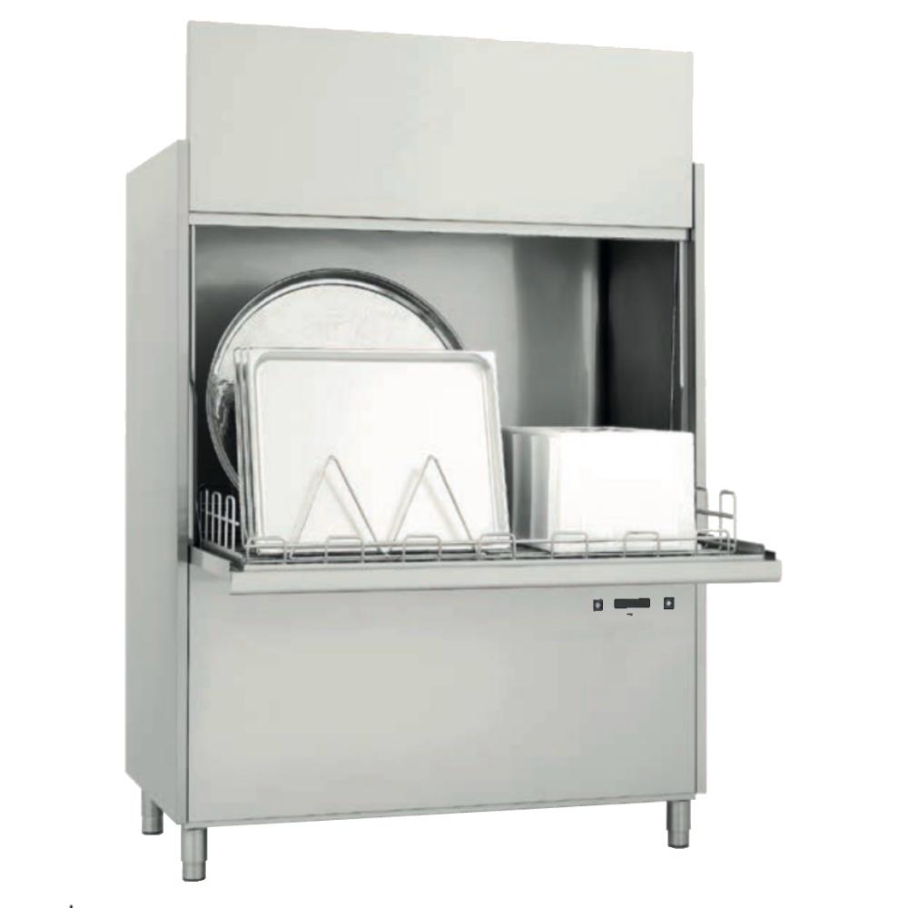 Eurast 28723CDD Pot-washer basket 1310x700 - 1465x850x1960 mm - 15,9 KW 400/3V