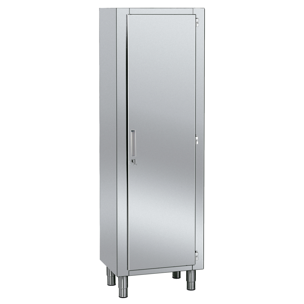 STAINLESS CABINET WITH DOOR