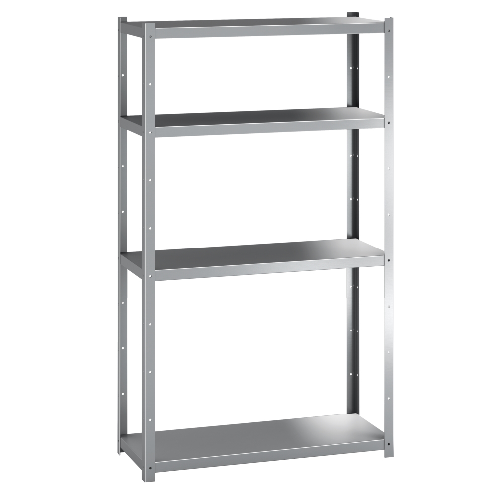 COMPLETE STAINLESS STEEL SHELF