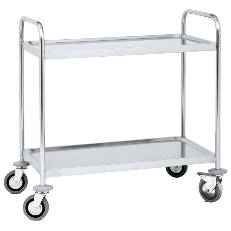 TROLLEY WITH SHELVES
