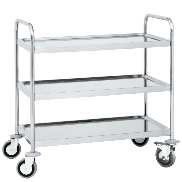 Eurast 94040620 Trolley with shelves 3 shelves max. load 200 kg. - 900x600x950 mm