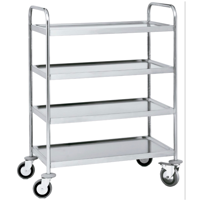 Eurast 97040620 Trolley with shelves 4 shelves max. load max. 200 kg. - 1000x600x1250 mm