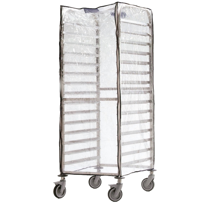 Eurast 92090620 Protective cover for trolley with guides for containers gn 2/1 or 1/1 - 660x750x1700