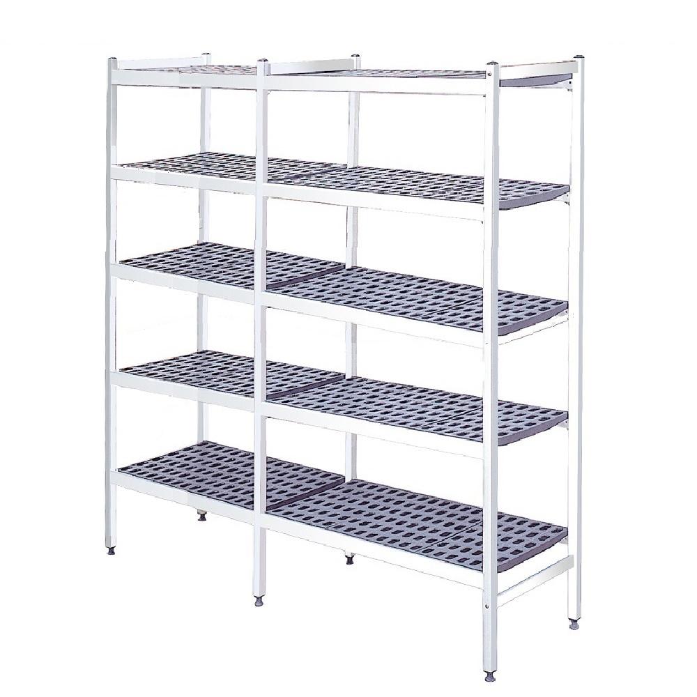 Eurast 22263500 Duraluminium shelves 5 levels - 2226x370x1700 mm